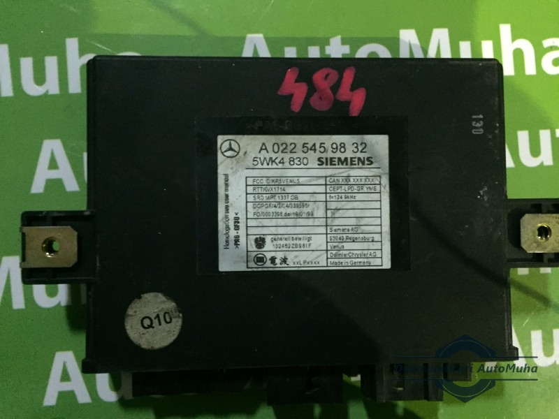 Calculator keyless go Mercedes A0225459832